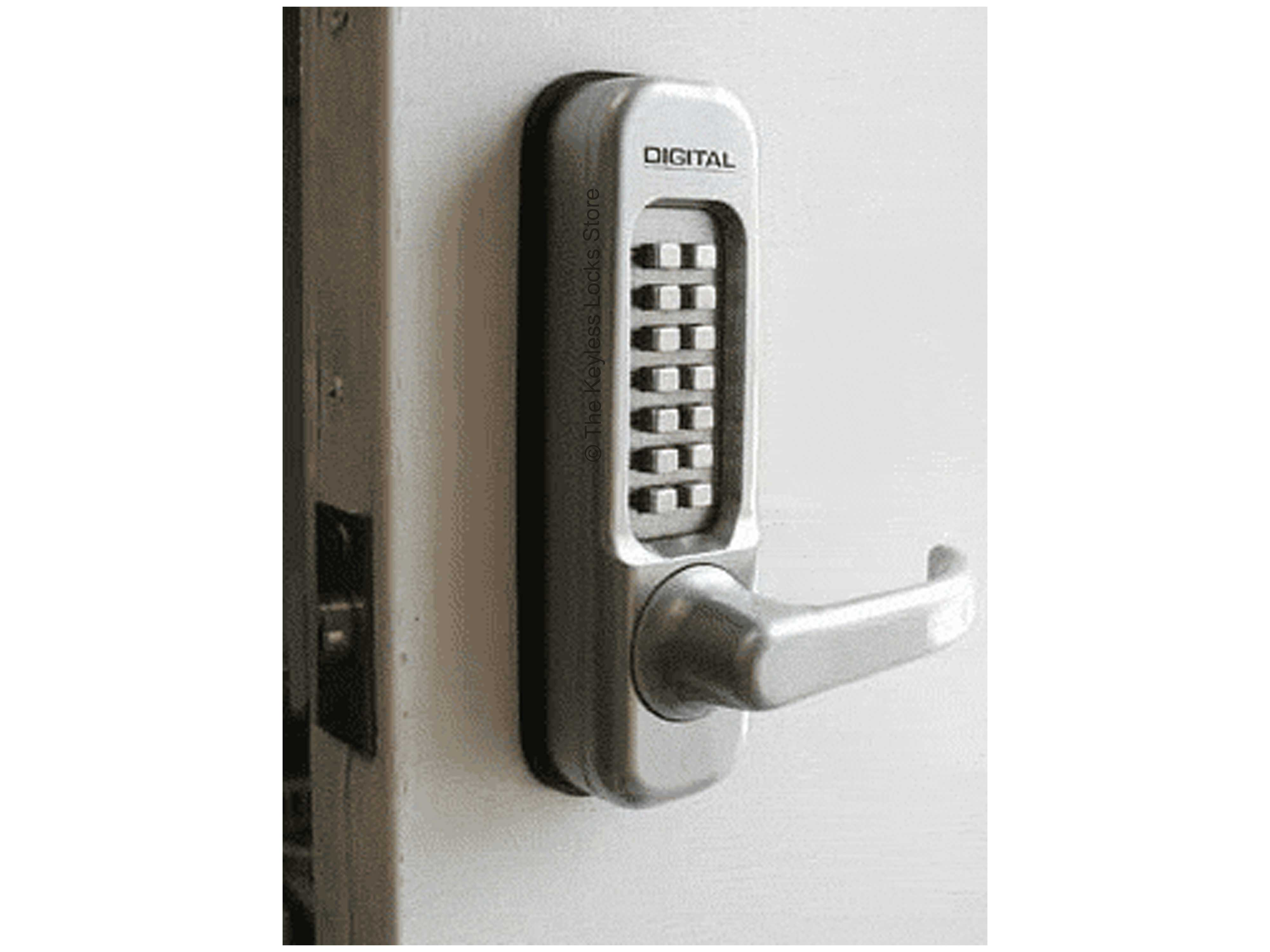 Lockey 1150 Passage Lever-Handle Latchbolt Keypad Lock - Click Image to Close
