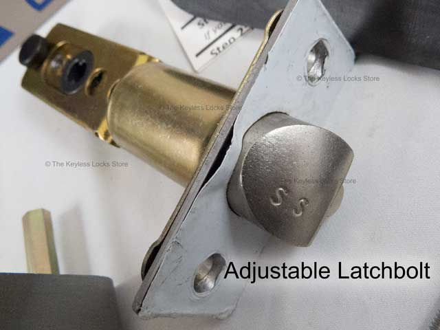 Lockey 2230DC Double-Sided Latchbolt Keypad Lock (replaces the 2230DC)