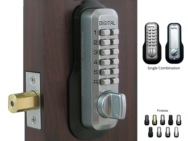 Lockey M210 EZ Deadbolt Keypad Lock