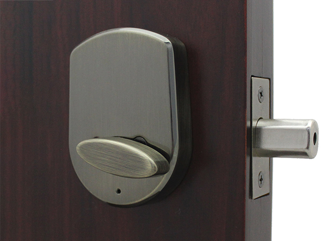 Lockey SL910 SlimLine Keypad Deadbolt Lock - Click Image to Close