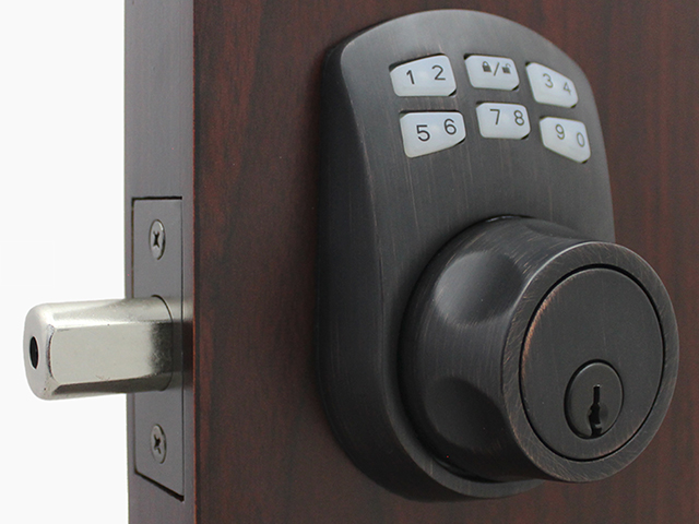 Lockey SL910 SlimLine Keypad Deadbolt Lock