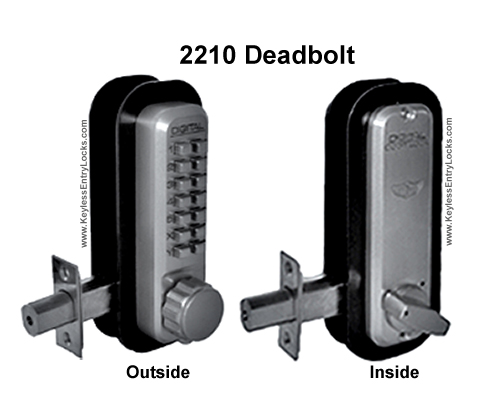 2210 Knob Handle Deadbolt