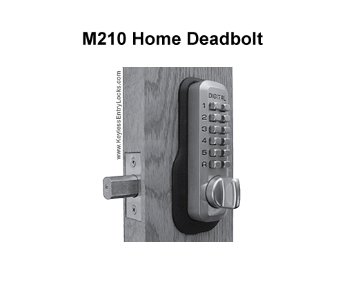 Lockey M210 Home Deadbolt Lock