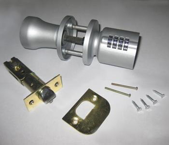 Gsa01 Keyless Combination Door Knob Lock Numeric Dial Ebay