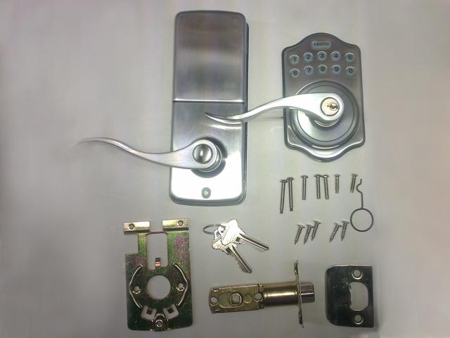 Lockey E Digital Deadbolt Latchbolt Lock With Remote