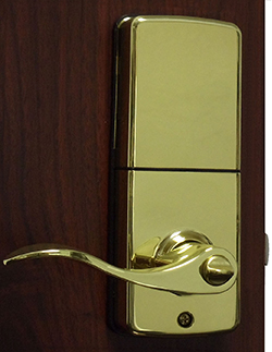 Lockey E Digital 985 Lever Handle Latchbolt With Remote