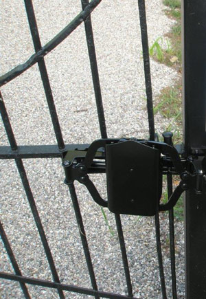 TB100 Turtle Back Gate Closer