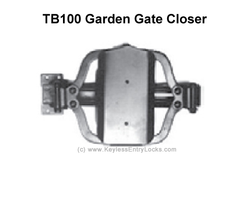 Lockey TB100 Turtle Back Hydraulic Gate Closer - Click Image to Close