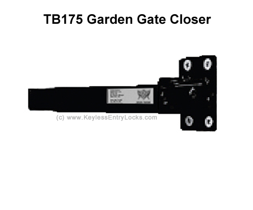 TB175 Lockey Garden Gate Hydraulic Gate Closer