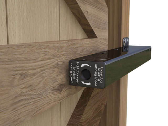 Lockey TB175 Hydraulic Garden Gate Closer - Click Image to Close
