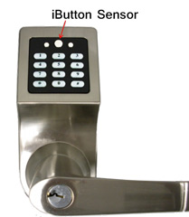 IBUTTON LOCK: The E6 iButton/Keypad Heavy-Duty Combination Entry Door Lock