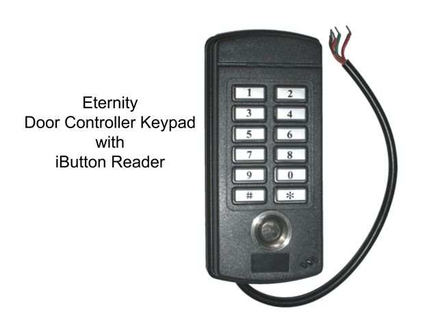 Eternity Door Controller - Keypad with iButton Reader for Second Door