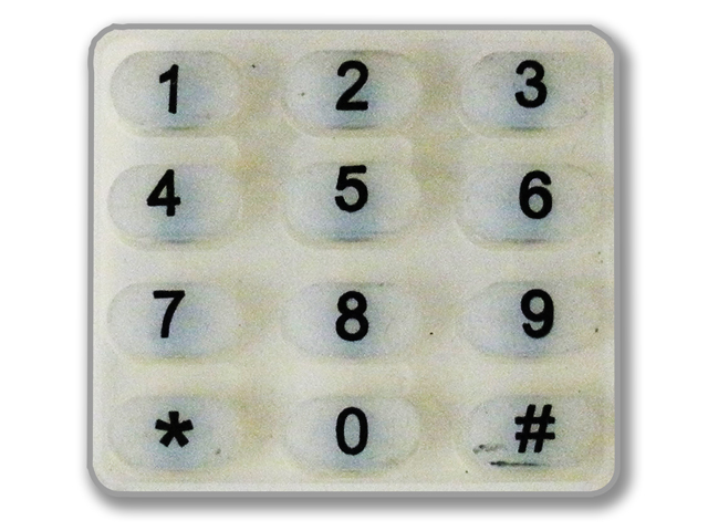 Eternity Replacement Rubber Keypad