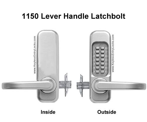 Lockey 1150 U0026 1150 DC Lever Handle Latchbolt Locks