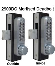 Lockey 2900DC Double-Sided Mortise Deadbolt Knob-Handle Lock