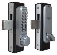 Lockey 2900 Narrow Stile Knob Handle Keypad Deadbolt Lock