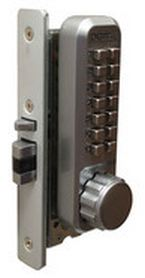2930 Keyless Adams Rite Latchbolt Lock