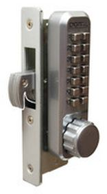2950 Keyless Mortised Hookbolt Lock