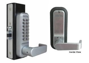 Lockey 2985 Mortise Latchbolt Lever Handle Lock Lockey