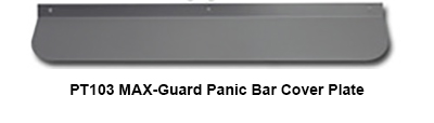 PT103 Lockey MAX-Guard Shield for Panic Bars