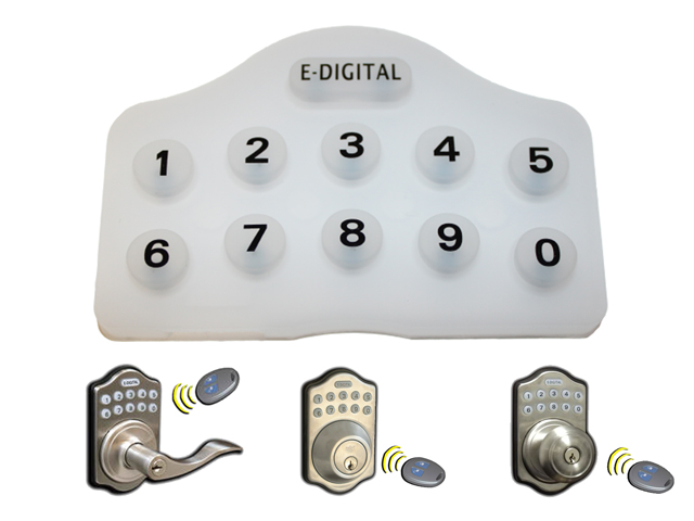 Lockey Replacement Rubber Keypad for E-Digital Keypad Locks