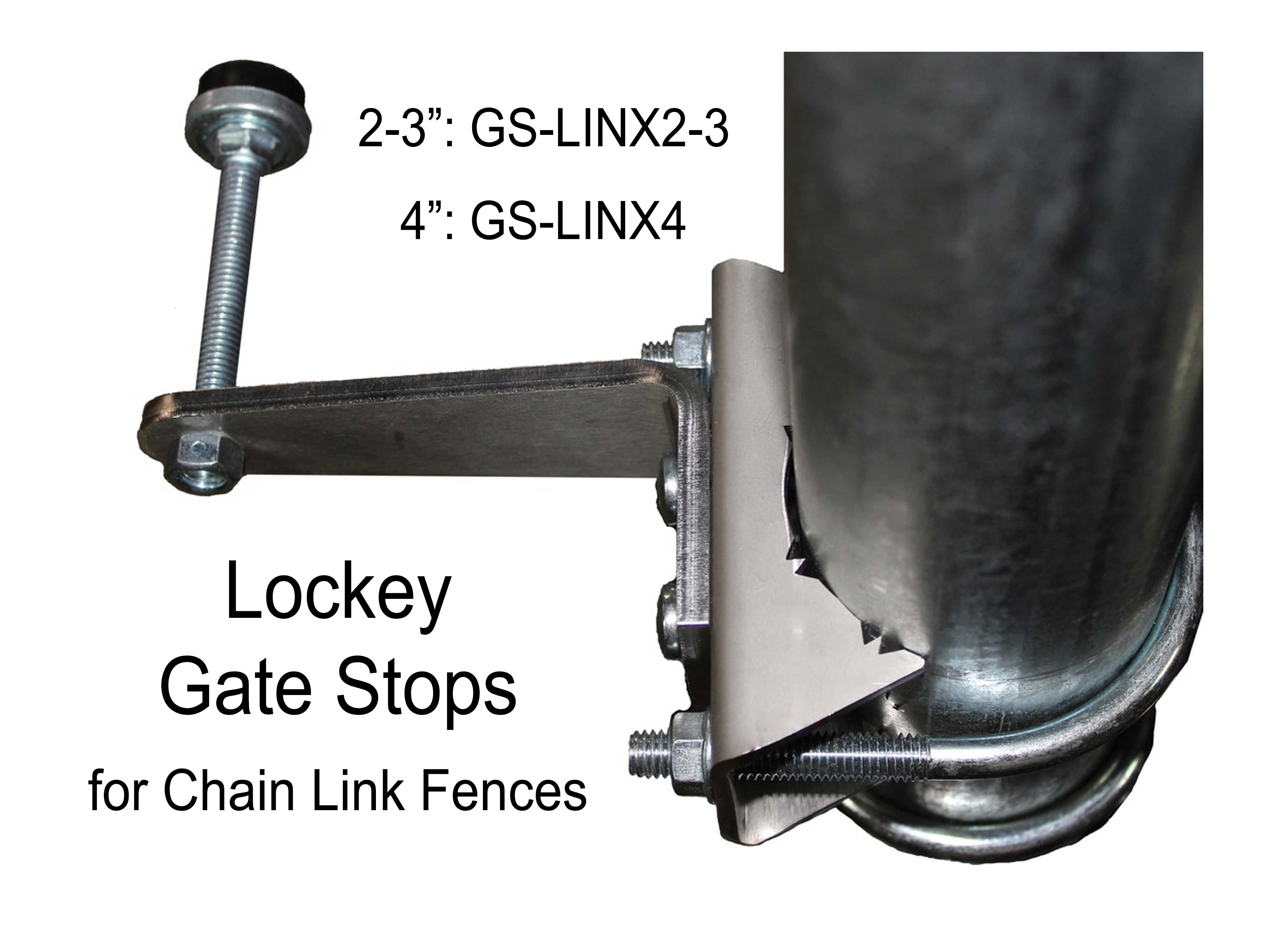 Lockey GSLINX Gate Stop for Chain-Link Gates - Click Image to Close