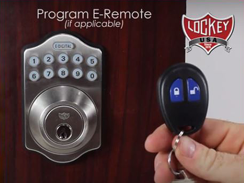 Lockey E-Digital Remote Control Key Fob