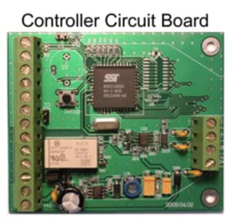 Eternity Door Controller - 2nd Circuit Board