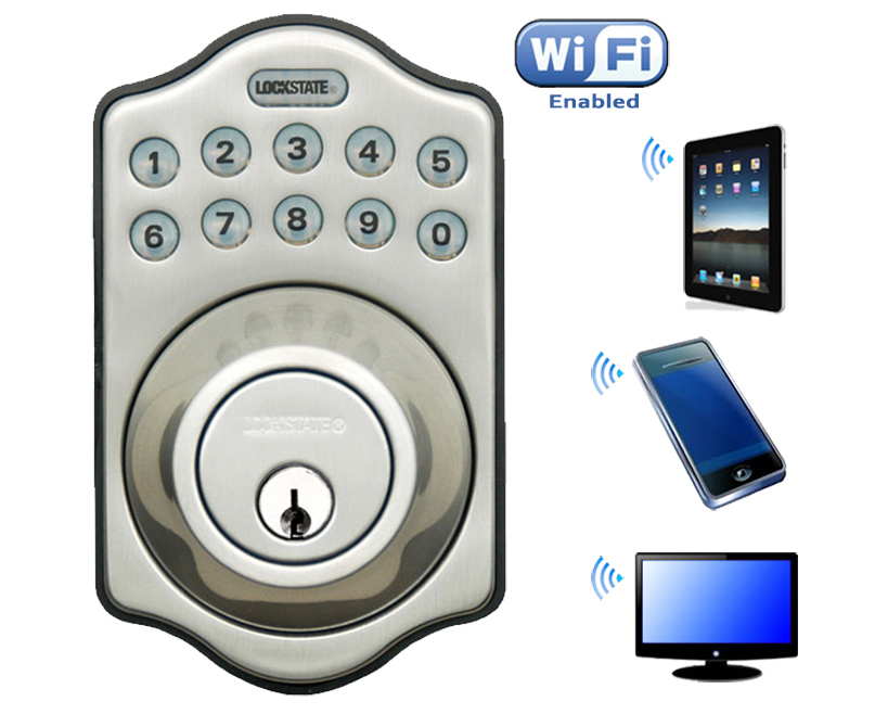 LockState WiFi DB500i Keypad Deadbolt Lock