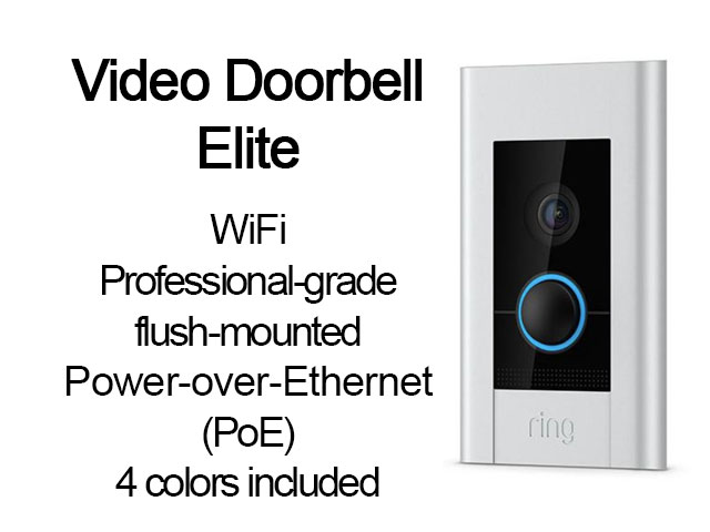 Ring Video Doorbell - Click Image to Close