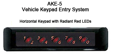 Essex Ake 5 Keypad Door Lock For Cars Essex Ake 5 Keypad