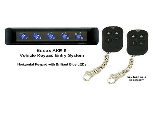 Essex AKE-5 Keypad Door Lock for Cars  sc 1 st  the Keyless Locks Store! : door fobs - pezcame.com