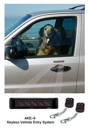 Essex AKE-5 Keypad Door Lock for Cars - Click Image to Close