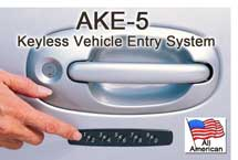 Essex AKE-5 Keypad Door Lock for Cars