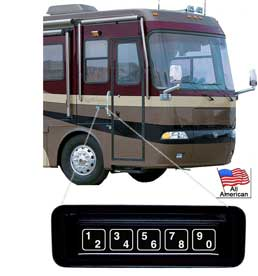 KE-1701 Keypad Door Lock for RVs, SUVs, and Trucks