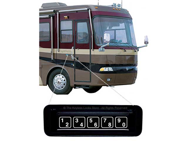 Essex KE-1701 Keypad Lock for RVs, Trucks, and Buses